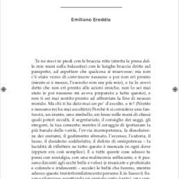 Emiliano Ereddia – Prima Pagina Racconto per NA